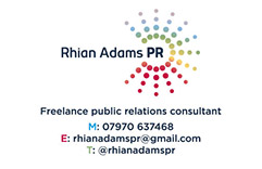 Rhian Adams PR B.Card 2