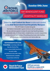Cosford Air Show VIP leaflet for email