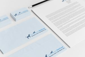 Tailormade Pet Food Stationary Mock-up